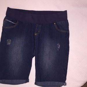 Pants - Maternity Jean Shorts